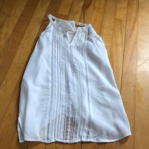 Old navy white top XS
